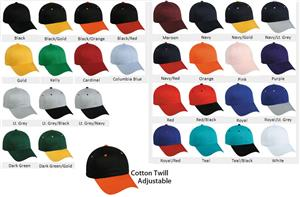 33b4a9c15 Youth Adjustable Twill Baseball Cap - Closeout Sale
