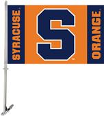 COLLEGIATE Syracuse Orange 2-Sided Car Flag