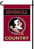 College Florida St 2-Sided Country Garden Flag
