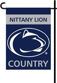 College Penn State 2-Sided Country Garden Flag