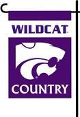 College Kansas State 2-Sided Country Garden Flag