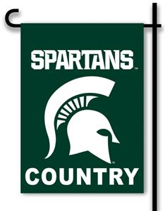 College Michigan State 2-Sided Country Garden Flag