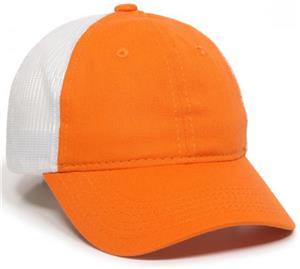 OC Sports Garment Wash Mesh Back Baseball Cap
