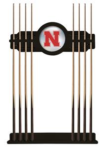 Holland University of Nebraska Logo Cue Rack. Free shipping.  Some exclusions apply.