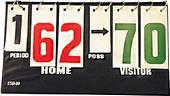 Volleyball Portable Scoreboard w/Possession Arrows