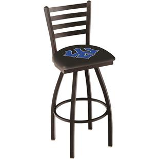 Incredible Washington Lee Chrome Swivel Bar Stool W Back Epic Sports Ncnpc Chair Design For Home Ncnpcorg