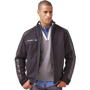 Burk's Bay Wool & Leather Driving Jacket