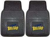 Fan Mats University of Toledo Vinyl Car Mats (set)