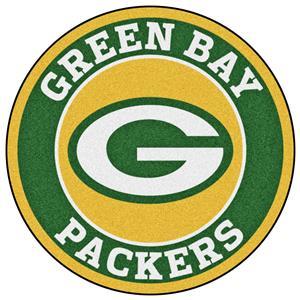 Fan Mats NFL Green Bay Packers Roundel Mat