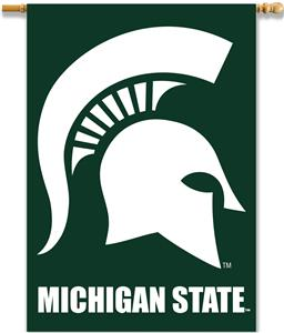 "College Michigan State 2-Sided 28""x40"" Banner"