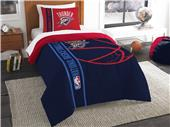 Northwest NBA OKC Thunder Twin Comforter & Sham