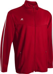 Russell Womens XL & W2XL  Gameday Warmup Jacket w/Pockets. Embroidery is available on this item.