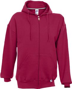AS Adult Small Cardinal L-Sleeve Mens Full Zip Hoodie