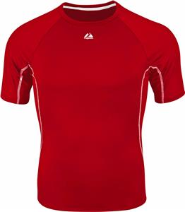 Majestic Cooling Fitted Baseball Baselayer Shirt