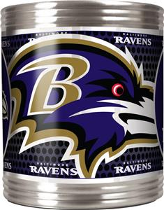 NFL Baltimore Ravens Stainless Steel Can Holder