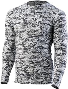 Augusta Sportswear Hyperform Compression LS Jersey. Decorated in seven days or less.