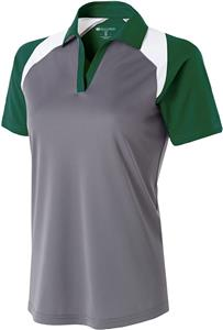 Holloway Ladies Snag-Resistant Shield Polo. Embroidery is available on this item.