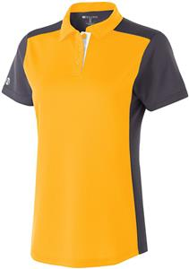 Holloway Ladies Division Polo. Embroidery is available on this item.