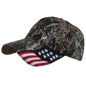 ROCKPOINT Outdoor Camo Freedom Flag Cap