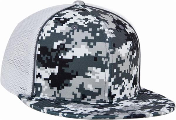 a391b036ff5 Pacific Headwear D-Series Digi Camo Trucker Caps