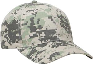 Pacific Headwear Digital Camo Caps
