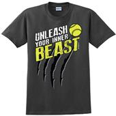 Image Sport Unleash Your Inner Beast Softball Tee