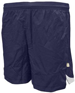 """Youth Navy or White Soccer Shorts 6"""" Inseam - CO"""