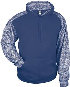 Badger Sport Adult Youth Blend Sport Hoodie. Decorated in seven days or less.