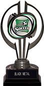 "Awards Black Hurricane 7"" Xtreme Soccer Trophy"
