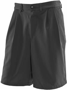 Men's 4-Pockets, Zip Fly, Pleated, Coach Shorts