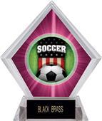 Awards Patriot Soccer Pink Diamond Ice Trophy