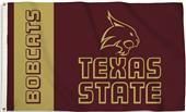 COLLEGIATE Texas State 3' x 5' Flag w/Grommets