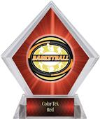 Award Classic Basketball Red Diamond Ice Trophy