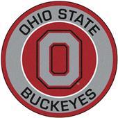 Fan Mats Ohio State University Roundel Mat