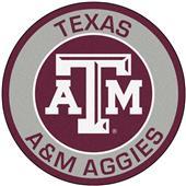 Fan Mats Texas A&M University Roundel Mat