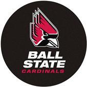 Fan Mats Ball State University Puck Mat