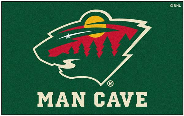huge selection of 2890c 1a64e Fan Mats NHL Minnesota Wild Man Cave Ulti-Mat