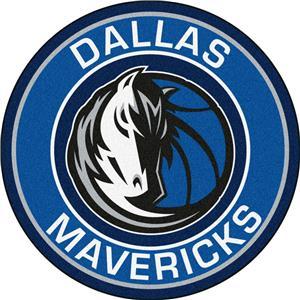 1c2e8cd36da Fan Mats NBA Dallas Mavericks Roundel Mat - Basketball Equipment and Gear