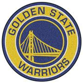 Fan Mats NBA Golden State Warriors Roundel Mat