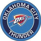 Fan Mats NBA Oklahoma City Thunder Roundel Mat