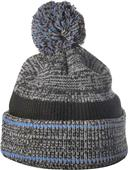 Richardson Heathered Knit with Cuff & Pom Beanie
