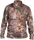 Louisville Adult Compression-Fit LS 1/4 Zip Shirt