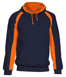 Badger Hook Colorblock Fleece Hoodies. Decorated in seven days or less.