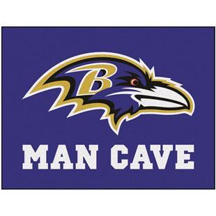 Fan Mats Baltimore Ravens Man Cave All Star Mat