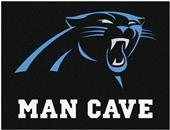 Fan Mats Carolina Panthers Man Cave All-Star Mat