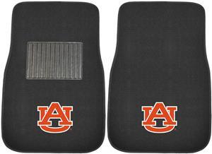 Fan Mats Auburn Univ Embroidered Car Mats (set)