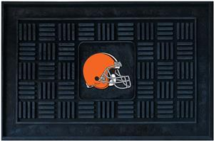 Fan Mats NFL Cleveland Browns Medallion Door Mat