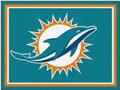 Fan Mats NFL Miami Dolphins 8x10 Rug