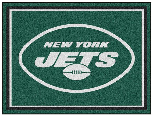 Fan Mats Nfl New York Jets 8x10 Rug Epic Sports