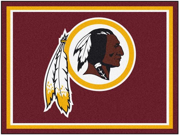 Fan Mats NFL Washington Redskins 8x10 Rug